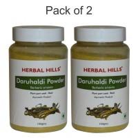 Herbal Hills Daru Haldi Powder 100 gms powder (Pack of 2)